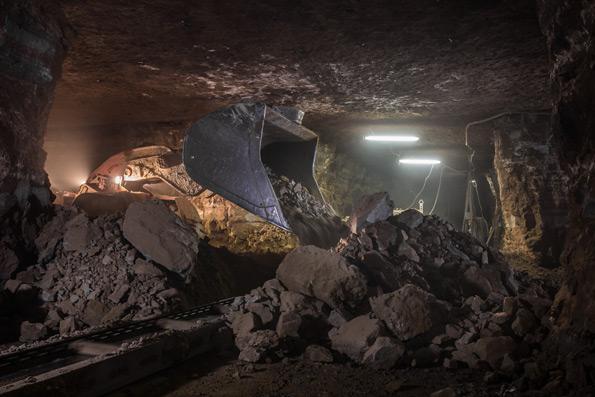 шахта работа конвейеров